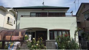 茨城県古河市S様邸 外壁・屋根塗装工事完成