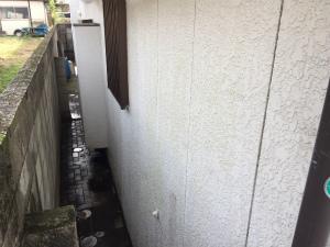 前橋市富士見町I様邸 外壁洗浄後