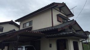 前橋市高花台 K様邸 外壁・屋根塗装工事前②