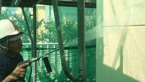 高崎市新町M様邸 外壁洗浄作業
