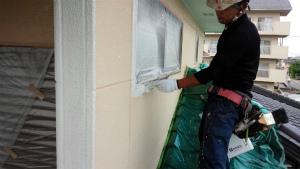 高崎市新町M様邸 外壁下塗り