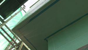 前橋市荒牧町I様邸 軒天補修、塗装完成