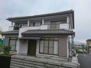 渋川市渋川I様邸 外壁塗装工事完成①