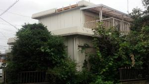 太田市台之郷O様邸 外壁塗装工事前②