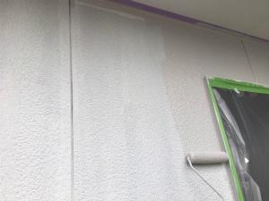 みどり市笠懸町Y様邸 2F外壁中塗り
