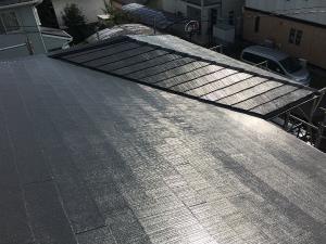 みどり市笠懸町Y様邸 屋根塗装工事完成④