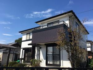 みどり市笠懸町Y様邸 外壁・屋根塗装工事完成②