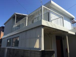 太田市台之郷O様邸 外壁と屋根塗装工事完成①