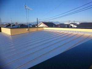 高崎市倉賀野町A様邸 屋根塗装工事完成