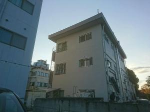 前橋市大手町マンション 外壁一面塗装完成