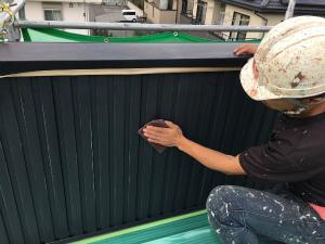 高崎市倉賀野町A様邸 塗装前の下地調整