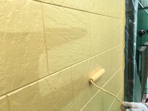 高崎市倉賀野町A様邸 外壁サイディング上塗り
