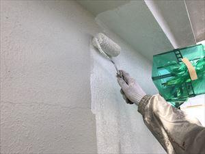 高崎市飯塚町外壁下塗りマスチック仕上げ