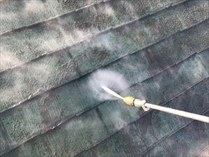 高崎市飯塚町M様 屋根洗浄作業