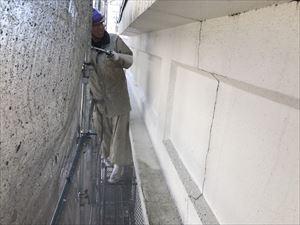 高崎市飯塚町M様 外壁洗浄作業