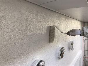 高崎市飯塚町外壁中塗り