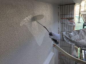 高崎市飯塚町M様外壁上塗り工事