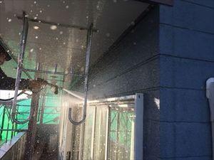 群馬県前橋市S様邸外壁洗浄作業