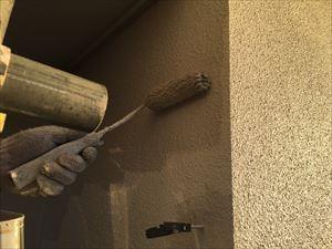 渋川市赤城町S様邸外壁上塗り