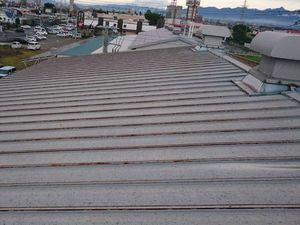 前橋市上泉町J工場様屋根塗装前②