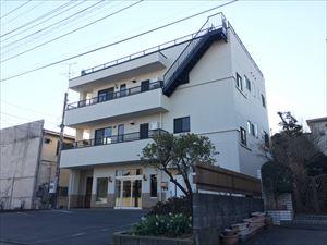 太田市飯田町商業ビル外壁屋根塗装工事完成①