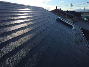前橋市鶴ケ谷町H様邸屋根塗装工事完成