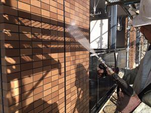 邑楽郡大泉町Aアパート様屋根外壁作業