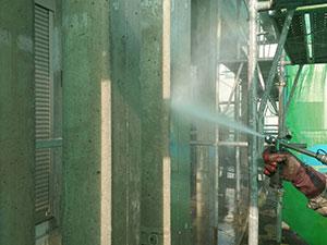高崎市上佐野町K様邸 外壁塗装前の高圧洗浄