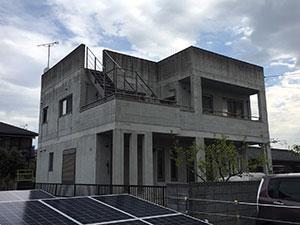 高崎市上佐野町K様邸 外壁塗装工事と防水工事前-1