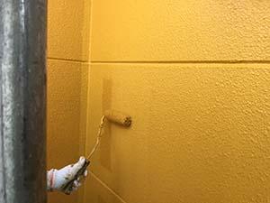 渋川市北橘町T様 外壁上塗り2回目
