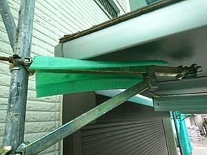 栃木県佐野市堀米町 外壁塗装 仮設足場カーポート