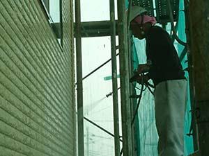 栃木県佐野市堀米町 外壁塗装 高圧洗浄