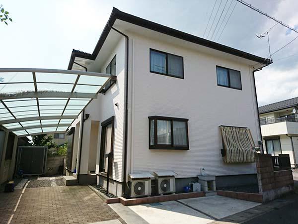 施工事例 栃木県佐野市堀米町K様邸 外壁塗装