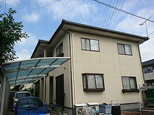 栃木県佐野市堀米町 外壁塗装施工前