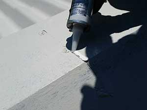 軽井沢町金属屋根塗装コーキング