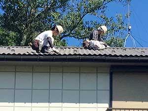 軽井沢町金属屋根塗装