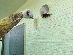 館林市坂下町A様邸外壁上塗り