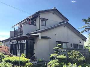 伊勢崎市N様邸外壁塗装
