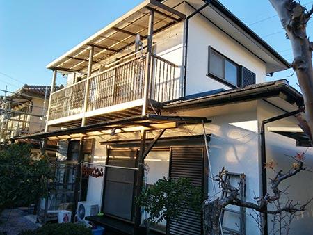 高崎市吉井町外壁屋根塗装完工