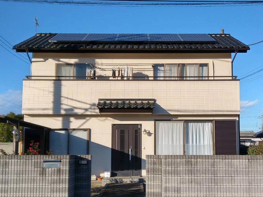 高崎市吉井町 外壁塗装完成