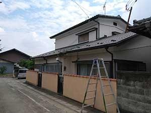 吉岡町 外壁塗装 着工前