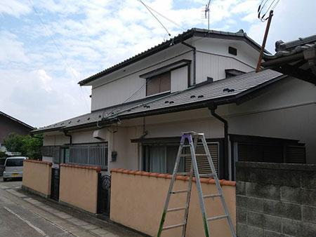 吉岡町 外壁塗装前