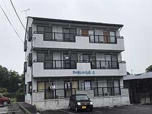 高崎市沖町アイランドパレスC 外壁塗装