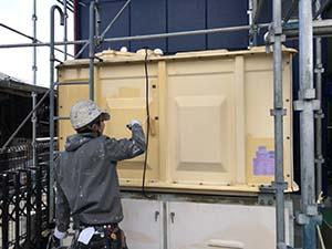 高崎市 アイランドパレス 貯水タンク塗装