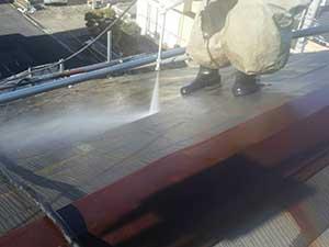埼玉上里町 屋根塗装 高圧洗浄