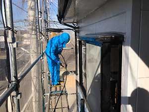 高崎市 アパート 洗浄作業