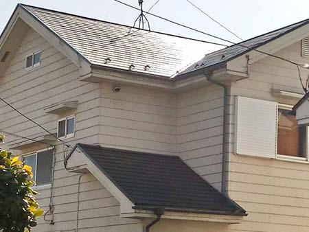 埼玉県上里町 コロニアル屋根塗装後