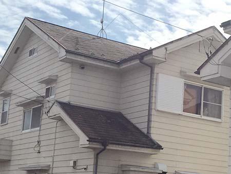 埼玉県上里町 コロニアル屋根塗装前
