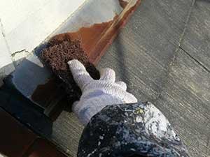 埼玉上里町 屋根塗装 ケレン