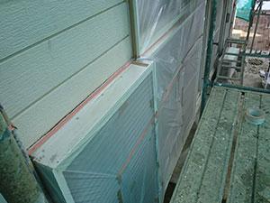 伊勢崎市 外壁塗装 養生